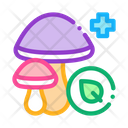 Medical Mushrooms Traditional Icon