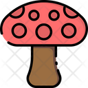 Mushrooms Food Vegetable Icon