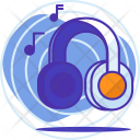 Concentration Music Sound Icon