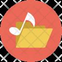 Music Folder Audio Icon