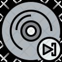 Music Cd Next Icon