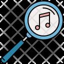 Music Search Tune Icon