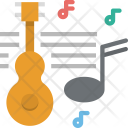 Music Guitar Note Icon