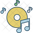 Music Cd Note Icon