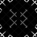 Multimedia Glyph Music Stop Icon