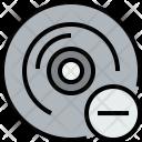 Music Cd Remove Icon