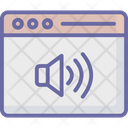 Music Audio Browser Icon
