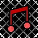 Music Note Playlist Icon