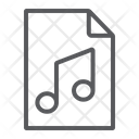 Music File Sound Icon