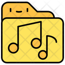 Music Sound File And Folder Icon