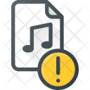 Music Attention File Icon