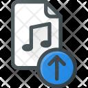 Music Upload File Icon