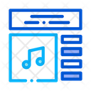 App Art Audio Icon