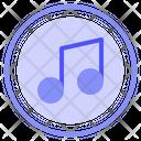 Music Audio Record Icon