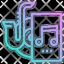 Music Monitor Seat Icon