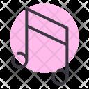 Music Note Multimedia Icon