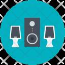 Music Player Speaker Icon