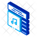 App Audio Element Icon