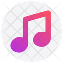Christmas Music Note Icon