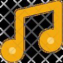 Social Media Music Songs Icon