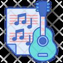 Music Guitar Chords Icon