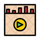 Music Video Player Icon