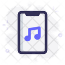 Mobile App Music Icon