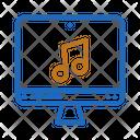 Website Music Sound Icon