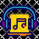 Music Headphones Earphones Icon
