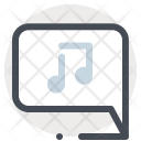 Music Chat Communication Icon