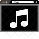 Music Note Web Icon