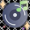 Music Vinyl Record Sound Icon