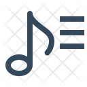 Music Playlist Song Icon