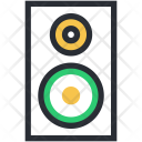Music System Speaker Icon