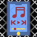 Music Listening Media Icon