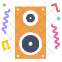 Music Party Speaker Icon