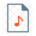 Music Note Mp Icon