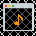 Music Audio Window Icon