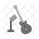 Music Guitar Mic Icon