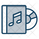 Music Album Music File Songs Archive Icon