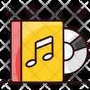 Music Album Music Book Music Education Icon