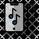 Mobile Music App Icon