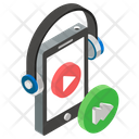 Music App Listening Music Mobile Music Icon