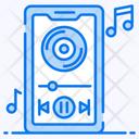 Music App Mobile App Smartphone App Icon