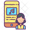 Iuser Mobile Music Application Mobile Music Icon