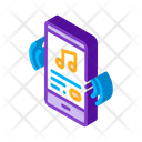 Music Smartphone Song Icon