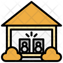 Music Area In Home Icon