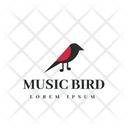 Music Bird Bird Tag Bird Label Icon