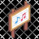 Music Board Lyrics Board Board Icon