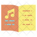 Imusic Book Music Book Music Education Icon